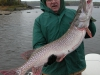 Giant Northern Pike caught on Clay Lake Northwinds Canadian Outfitters