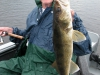 Nice walleye Clay Lake caught at northwinds canadian outfitters