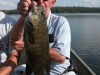 Smallmouth Bass Cedar Lake, Caught at Northwinds Canadian