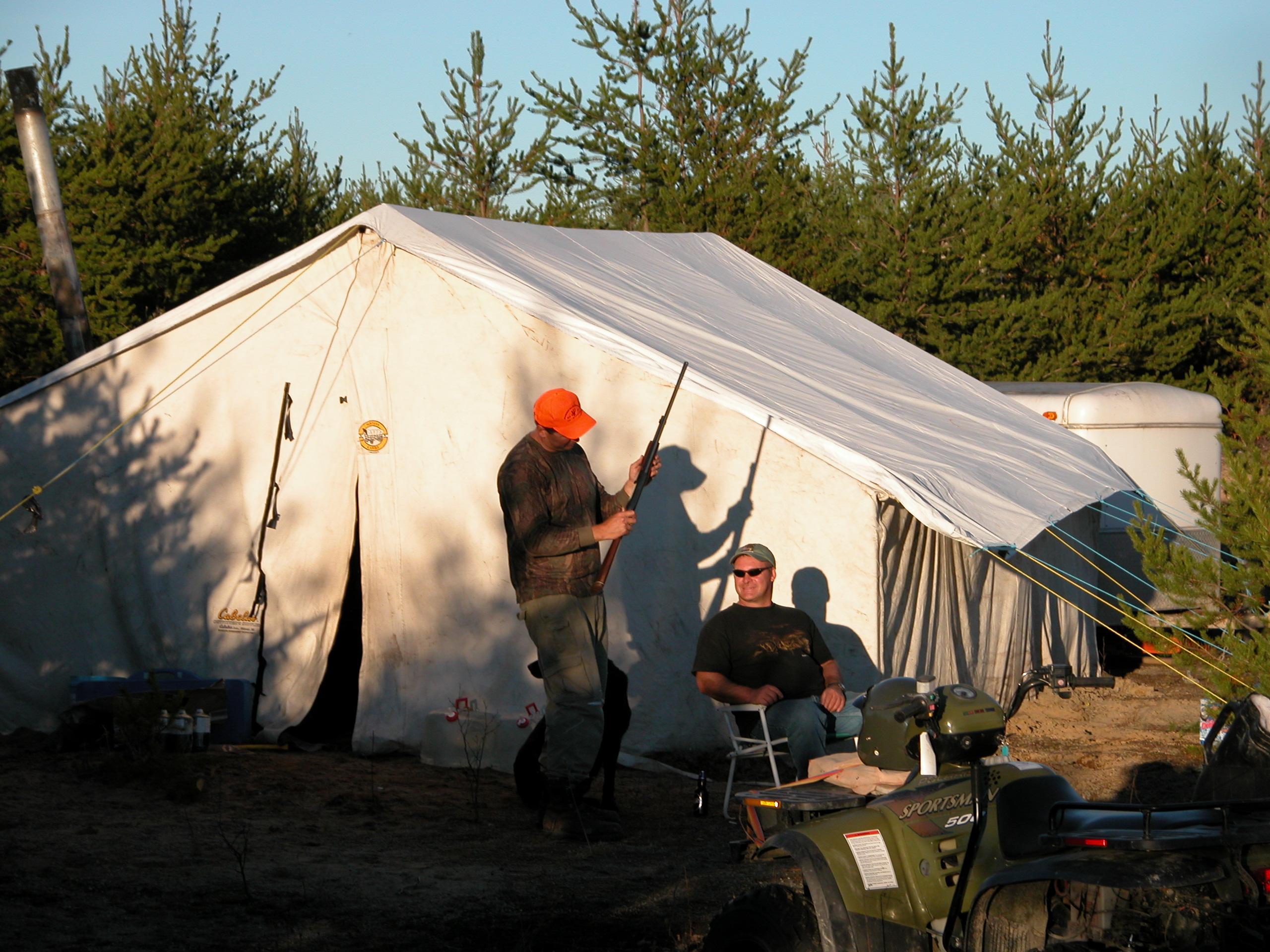 Moose Hunting Tent Camp Northwinds Canadian Outfitters