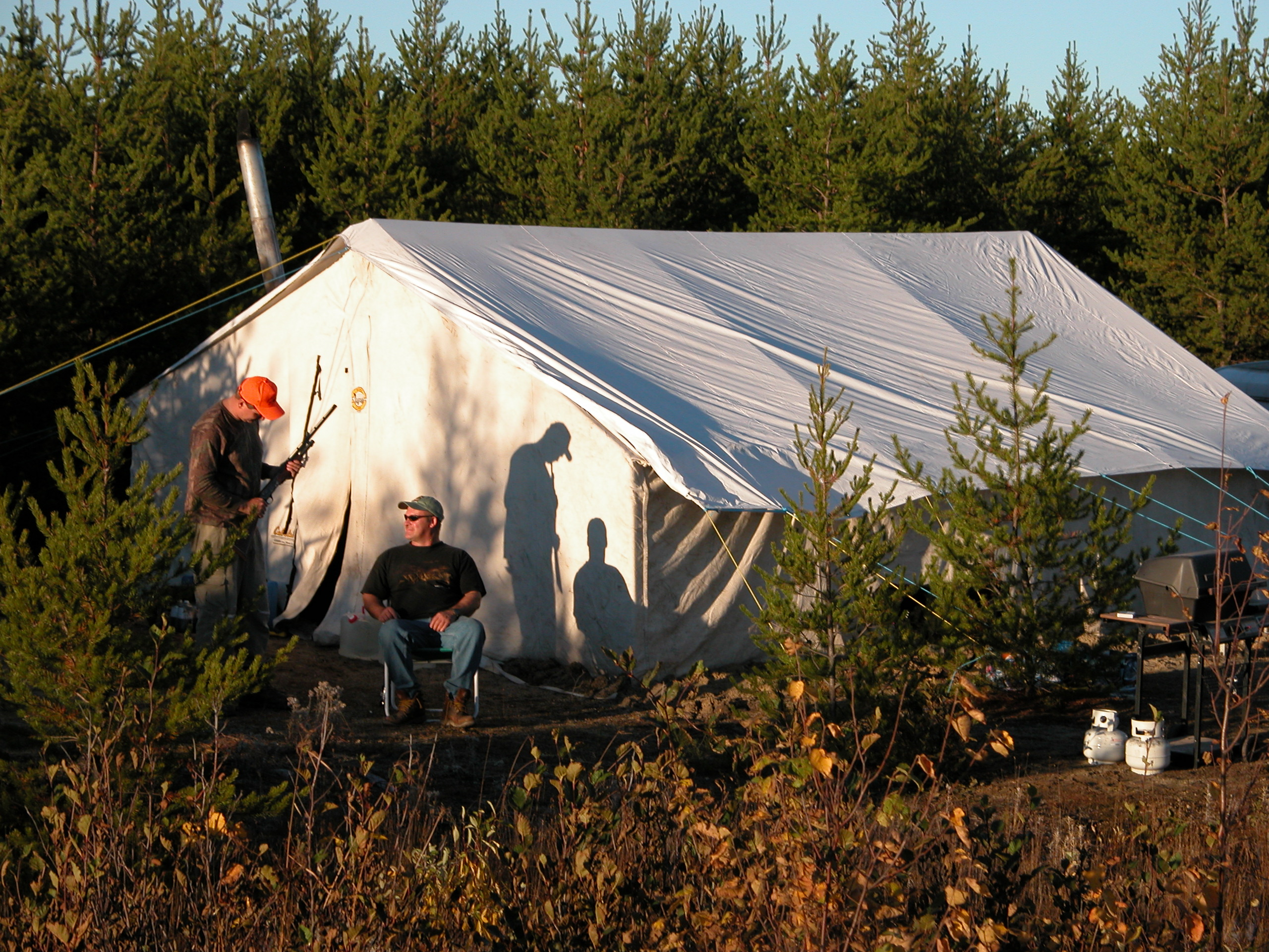 tent camp at northwinds