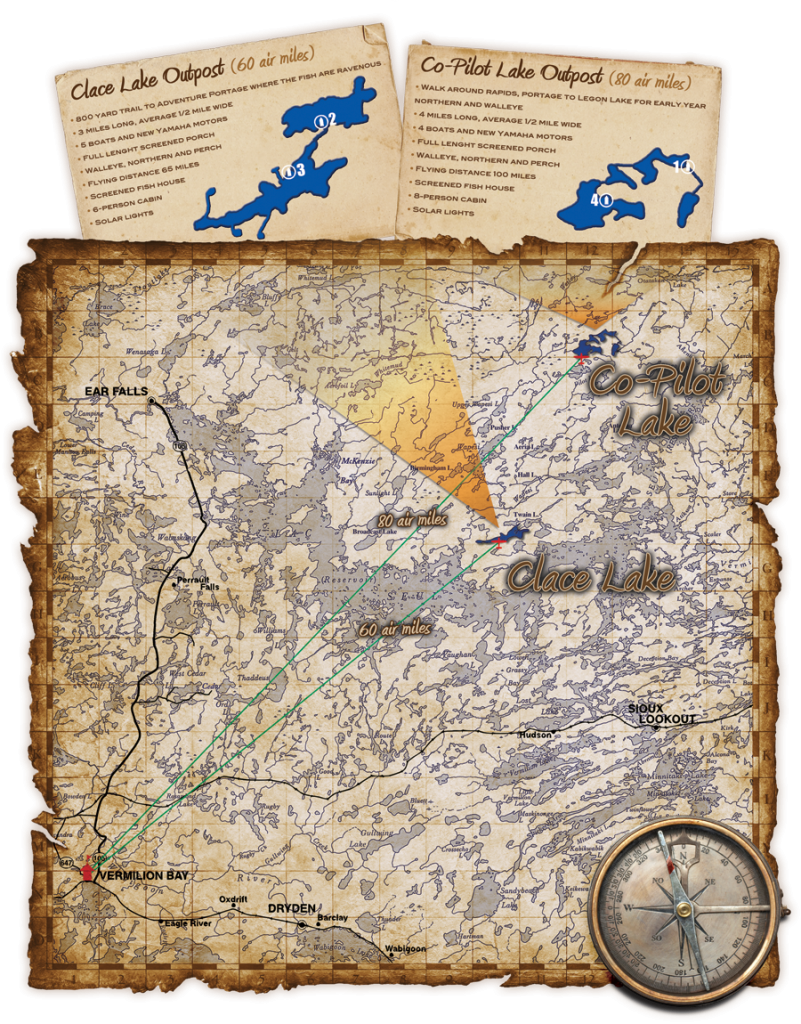 Northwinds Canadian Outfitters Outpost Maps