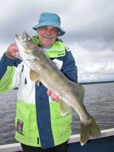 Beautiful Walleye at Northwinds Canadian Outfitters - Clace Lake Outpost